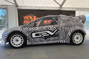 FIA Junior eRX rally car