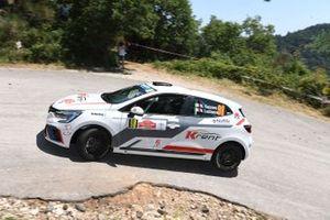 Nicola Cazzaro, Giovanni Brunaporto, Scuderia Palladio, Renault Clio Rally