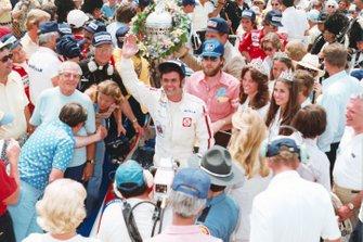 Race winner Al Unser