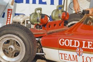 Lotus 72C Ford technical detail