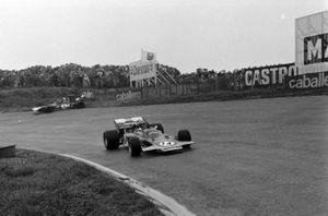 Reine Wisell, Lotus 72C Ford, Jackie Stewart, Tyrrell 003 Ford