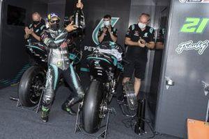 Tweede plaats Franco Morbidelli, Petronas Yamaha SRT