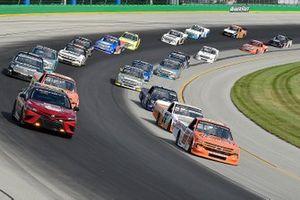 Brett Moffitt, GMS Racing, Chevrolet Silverado Chevy Cares, Zane Smith, GMS Racing, Chevrolet Silverado LaPaz Margarita Mix, Tyler Ankrum, GMS Racing, Chevrolet Silverado Liuna!
