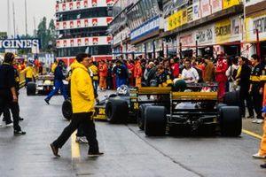 Luis Perez-Sala, Minardi M188B, Pierluigi Martini, Minardi M188B