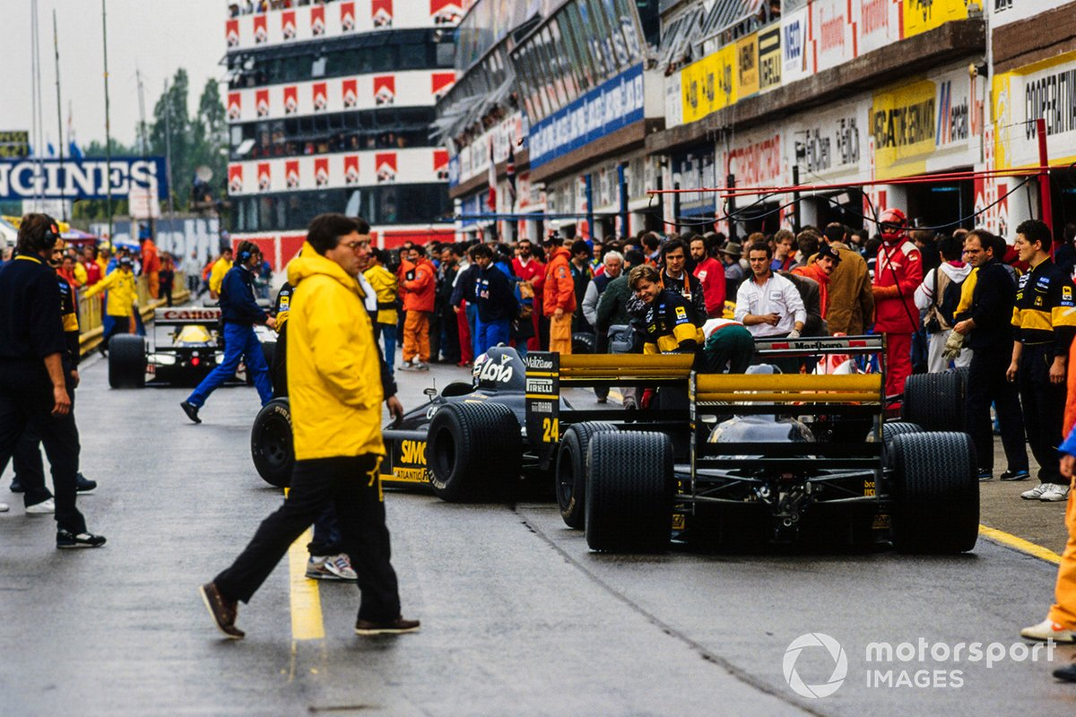 Luis Perez-Sala, Minardi M188B Ford, Pierluigi Martini, Minardi M188B Ford