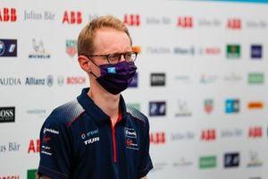 Sylvain Filippi, Managing Director, Envision Virgin Racing, in conferenza stampa
