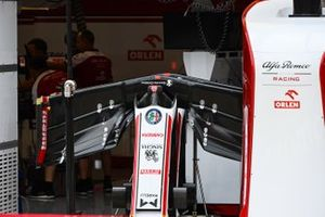 Переднее антикрыло Alfa Romeo Racing C39