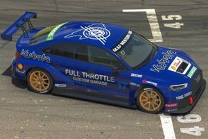 Team Johnson's virtual TCR car