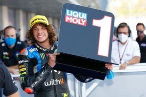 Pole sitter Marco Bezzecchi, Sky Racing Team VR46