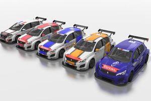 Stéphane Ventaja, Jimmy Clairet, Teddy Clairet, Aurélien Comte, Julien Briché, Team Clairet Sport, JSB Compétition, DG Sport Compétition, Peugeot 308 TCR