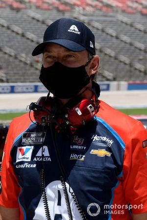 Chad Knaus and William Byron, Hendrick Motorsports, Chevrolet Camaro Axalta