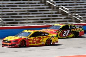 Joey Logano, Team Penske, Ford Mustang Shell Pennzoil, Gray Gaulding, Rick Ware Racing, Ford Mustang Panini America