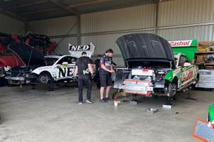 Kelly Racing's temporary Mildura base