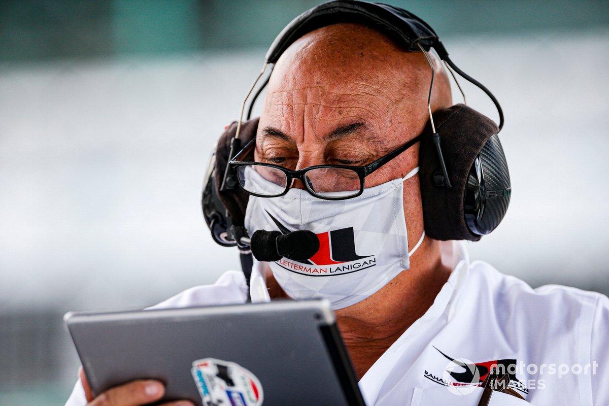 Bobby Rahal, propietario de Rahal Letterman Lanigan Racing Honda