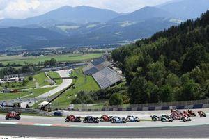 MotoGP race start