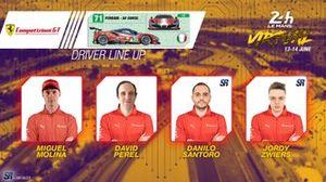 Line-up #71 AF Corse Ferrari