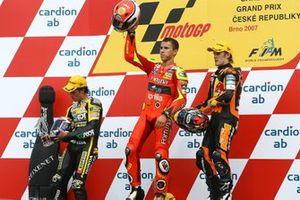 Podio: ganador Jorge Lorenzo, Fortuna Aprilia