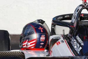 Marco Andretti, Andretti Herta with Marco & Curb-Agajanian Honda helmet