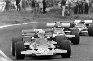 John Miles, Lotus 72B Ford, Piers Courage, De Tomaso 308 Ford