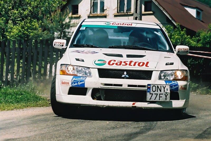 Maciej Lubiak, Maciej Wisławski, Mitsubishi Lancer Evo VII