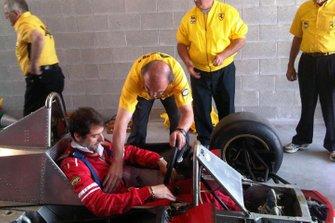 Jonathan meccanici Gilles Ferrari 312T4