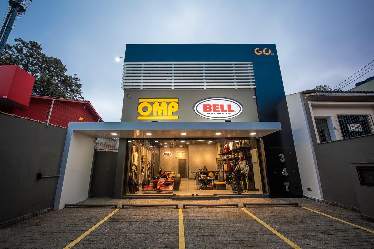 Loja conceito da parceira entre OMP e Bell