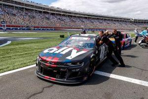 Alex Bowman, Hendrick Motorsports, Chevrolet Camaro Ally Patriotic