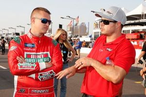 Ryan Preece, Team DGR, Ford F-150 Hunt Brothers Pizza with David Gilliland