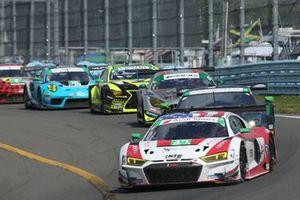 #42 NTE Sport Audi R8 LMS GT3, GTD: Don Yount, JAden Conwright, Markus Palttala