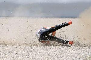 Aron Canet, Aspar Team, crash