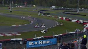 Caos generalizado no Campeonato Europeu de Kart em Genk