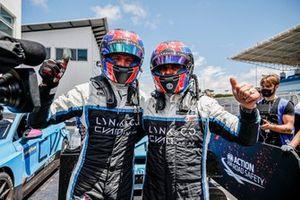 Yann Ehrlacher, Cyan Racing Lynk & Co Lynk & Co 03 TCR, Yvan Muller, Cyan Racing Lynk & Co Lynk & C0 03 TCR