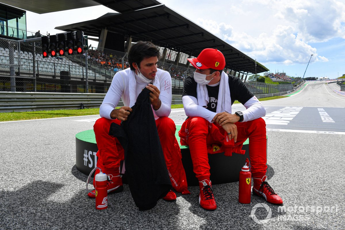 Carlos Sainz Jr., Ferrari, Charles Leclerc, Ferrari