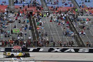 John Hunter Nemechek, Kyle Busch Motorsports, Toyota Tundra ROMCO celebrates this win