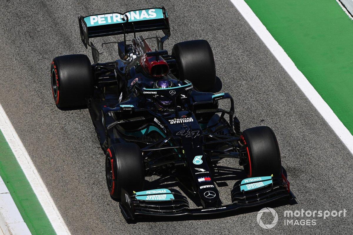 2021: Mercedes F1 W12