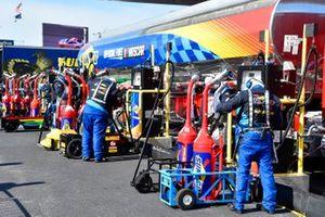NASCAR-Tankanlage von Sunoco im Fahrerlager