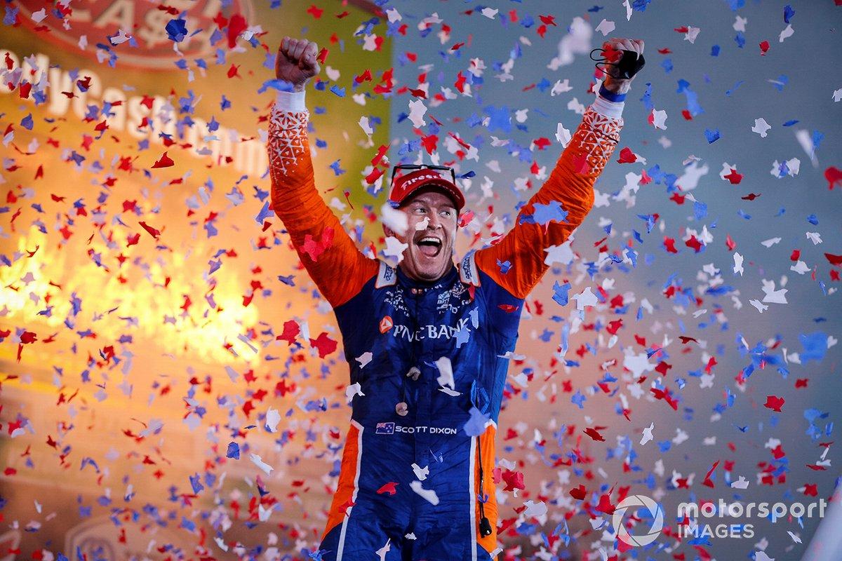 Ganador Scott Dixon, Chip Ganassi Racing Honda
