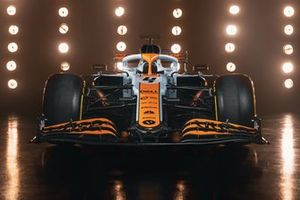 McLaren MCL35M with Gulf livery