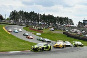 #14 VasserSullivan Lexus RC F GT3, GTD: Jack Hawksworth, Aaron Telitz, #96 Turner Motorsport BMW M6 GT3, GTD: Robby Foley, Bill Auberlen