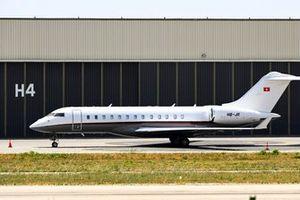 Un Bombardier BD-700 Global Express XRS