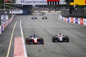 Robert Shwartzman, Prema Racing and Ralph Boschung, Campos Racing