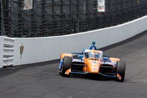 Scott Dixon, Chip Ganassi Racing Honda en la carrera de la pole