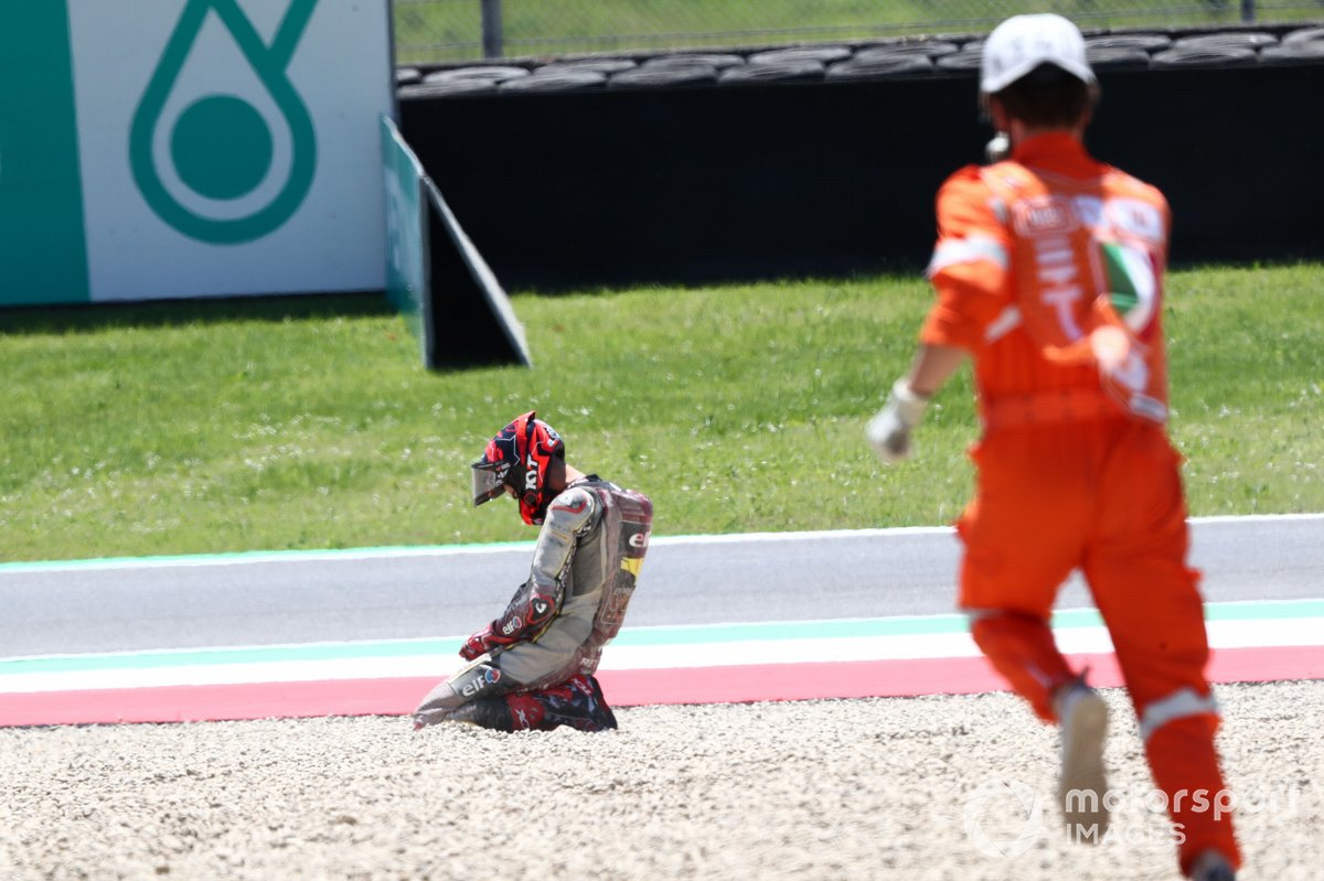 Augusto Fernandez, Marc VDS Racing Team crash