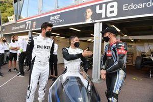 Norman Nato, Venturi Racing, Edoardo Mortara, Venturi Racing, con Max Biaggi