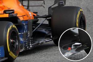 McLaren MCL35M floor