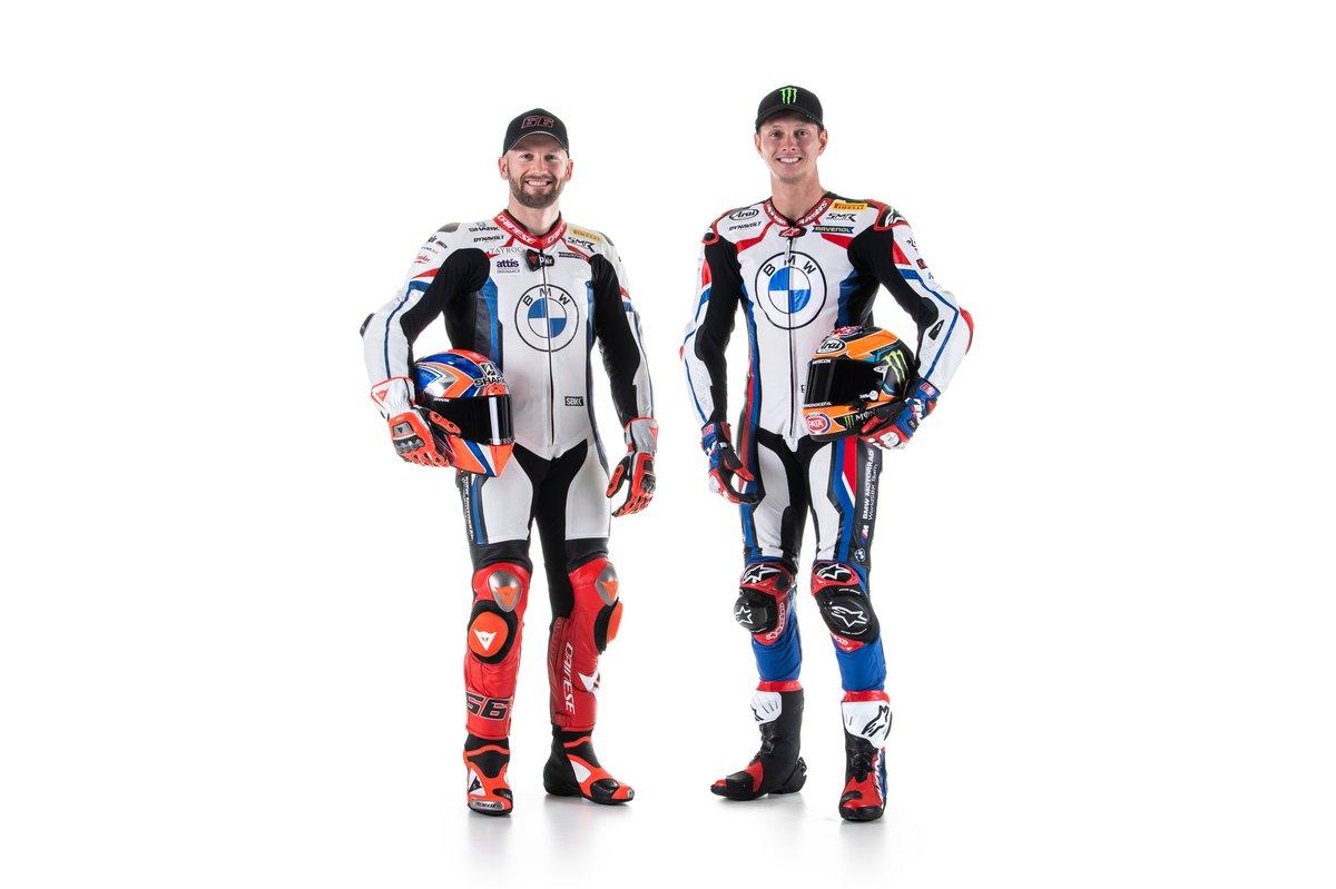 Tom Sykes, BMW Motorrad WorldSBK Team, Michael van der Mark, BMW Motorrad WorldSBK Team