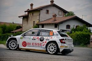 Elwis Chentre, Elena Giovenale, Skoda Fabia R5, PA Racing