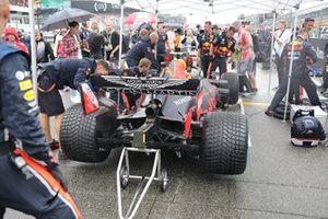Red Bull Racing RB15 diffuser detail