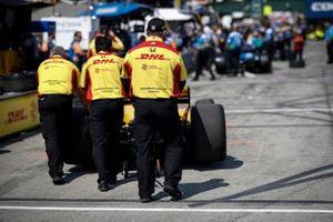 Ryan Hunter-Reay, Andretti Autosport Honda, crew
