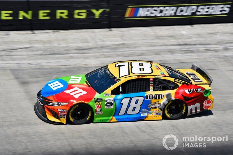 4. Kyle Busch, Joe Gibbs Racing, Toyota Camry